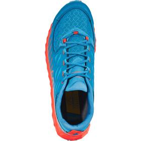 La Sportiva Lycan Zapatillas running Hombre, tropic blue/tangerine